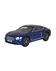 Oxford Diecast Bentley Continental GT Peacock Blue 76BCGT001
