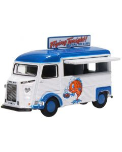 76CIT005 Citroen H Catering Van Fish and Chips by Oxford Diecast