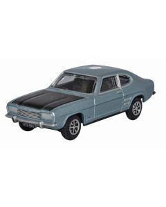 Oxford Diecast Ford Capri Mk1 Blue Mink 76CP004