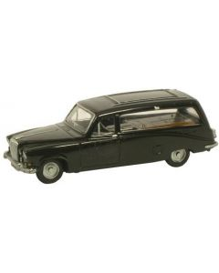 Oxford Diecast Black Hearse Daimler DS420 NDS002