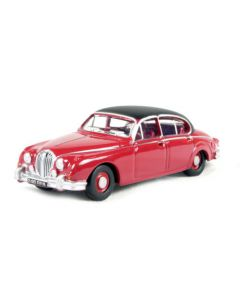 Inspector Morse Jaguar MKII Carmine Red Oxford Diecast 76JAG2001