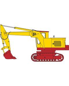 76JCB7001 JCB 7 Yellow/Red