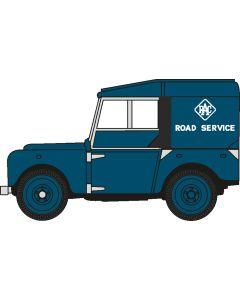 """76LAN180006Land Rover Series I 80"""" Hard Top RAC"""