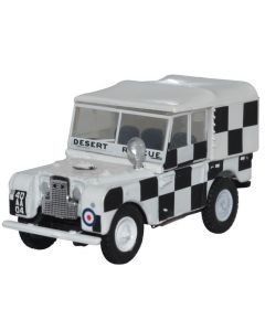 Oxford Diecast RAF Tripoli Desert Rescue Team Land Rover Series 1 80 Canvas 76LAN180009