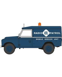 76LAN2017 Land Rover Series II LWB Hard Top RAC Radio Patrol