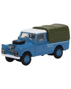 76LAN2020 Land Rover Series II LWB Canvas Bluebird Land Speed Record 1960