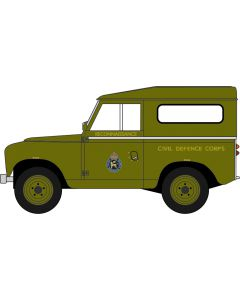 76LR2S005 Land Rover Series II SWB Hard Back Civil Defence