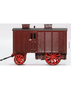 Oxford Diecast Living Wagon Maroon/Red 76LW001