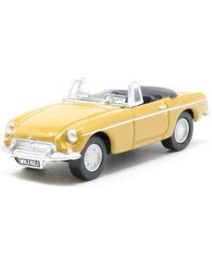 Oxford Diecast MGB Roadster Bronze Yellow 76MGB009