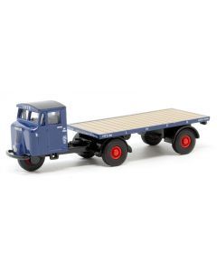 Oxford Diecast LNER Scammell Mechanical Horse Flatbed 76MH020