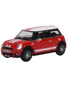 76NMN007 New Mini Chilli Red/ White