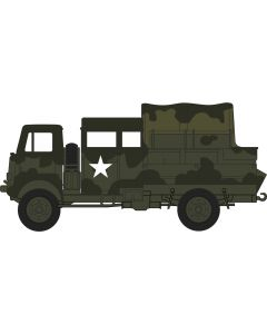 76QLB003 Bedford QLB Light AA Reg.12 Corps Germany 1945 by Oxford Diecast