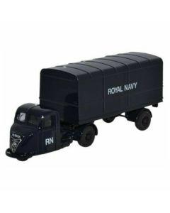 Oxford Diecast Scammell Scarab Van Trailer Royal Navy 76RAB010