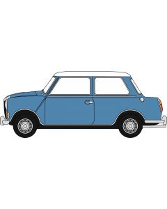 Oxford Diecast Riley Elf MkIII Persian Blue/Snowberry White 76RE002