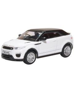 Oxford Diecast Range Rover Evoque Convertible Fuji White 76RREC003