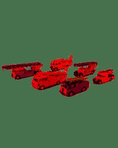 Oxford Diecast London Fire Brigade 150th Anniversary Set 76SET31