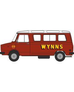 76SHP006 Sherpa Minibus Wynns