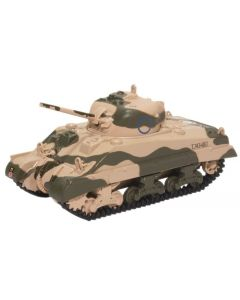 Oxford Diecast Sherman Tank MK III 10th Armoured Division 1942 76SM001