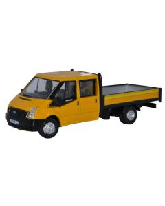Oxford Diecast 76TPU004 Ford Transit Dropside Highway Maintenance