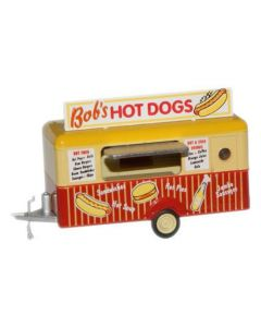 Oxford Diecast Mobile Trailer Bobs Hot Dogs 76TR001
