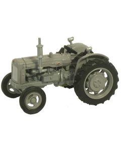 Oxford Diecast Fordson Tractor Matt Grey 76TRAC004