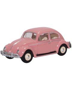 Oxford Diecast VW Beetle Pink Hong Kong Registration 76VWB011HK