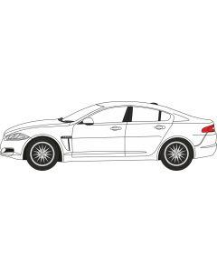 76XF005 Jaguar XF Saloon Polaris White
