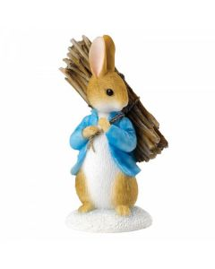 Peter Carrying Sticks by Enesco A26906