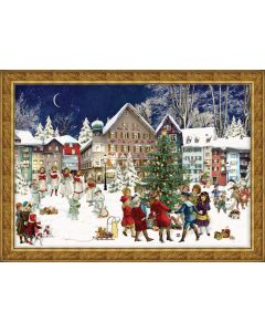 Richard Sellmer Advent Calendar Old Town 784