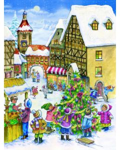 Richard Sellmer Advent Calendar Decorating the Tree 795