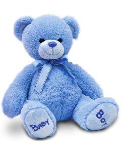 SN4824 35cm Nursery Bear Blue by Keel Toys