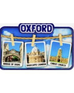 Oxford Washing Line Wood Magnet by Elgate 73186