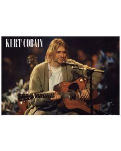 Kurt Cobain Unplugged Landscape Maxi Poster by GB Eye LP1943