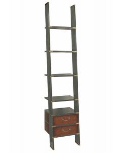 Authentic Models Library Ladder, Gunmetal Grey MF068G