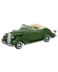 87BS36004 Buick Special Convertible Coupe 1936 Balmoral Green by Oxford Diecast