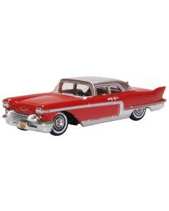 Oxford Diecast 87CE57002 Cadillac Eldorado Brougham 1957 Dakota Red