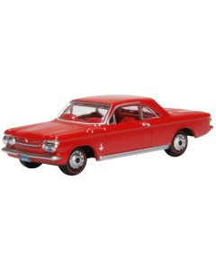 Oxford Diecast Chevrolet Corvair Coupe 1963 Riverside Red 87CH63002