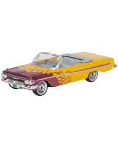 87CI61004 Chevrolet Impala 1961 Convertible Hot Rod