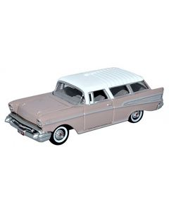 Oxford Diecast Chevrolet Nomad 1957 Dusk Pearl / Imperial Ivory 87CN57001