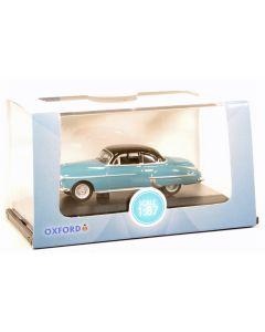 Oxford Diecast Oldsmobile Rocket 88 Coupe 1950 Crest Blue/Black 87OR50002