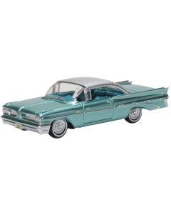 Oxford Diecast Pontiac Bonneville Coupe 1959 Seaspray Green 87PB59003
