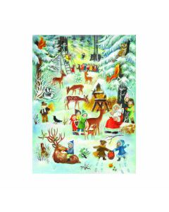Richard Sellmer Advent Calendar Christmas in the Forest 70108