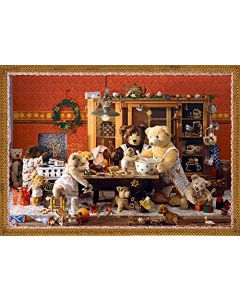 92354 Teddy Bears Kitchen Traditional Advent Calendar by Coppenrath