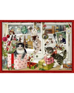 94746 Christmas Kittens Traditional Advent Calendar by Coppenrath