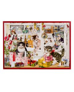 Christmas Kittens A4 Advent Calendar Coppenrath 94746