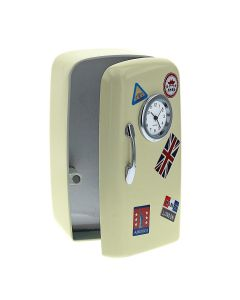Miniature Fridge Clock by Widdop & Co 9609