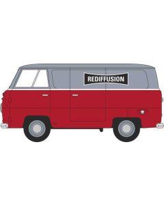 Oxford Diecast Rediffusion Ford 400E Van 76FDE015