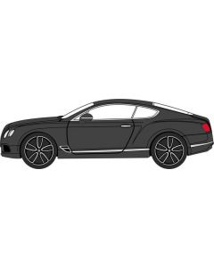 76BCGT003  Bentley Continental GT Onyx Black by Oxford Diecast