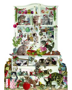Coppenrath Mischievous Christmas Cats Advent Calendar 94369