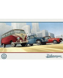 VW Camper, Illustration, Maxi Poster by GB Eye PH0534